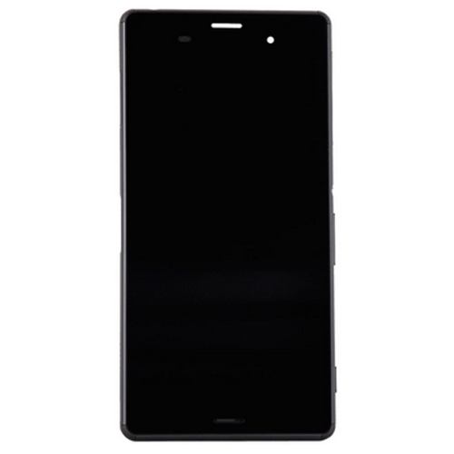 LCD Digitizer Assembly with Frame for Xperia Z3 Black OEM