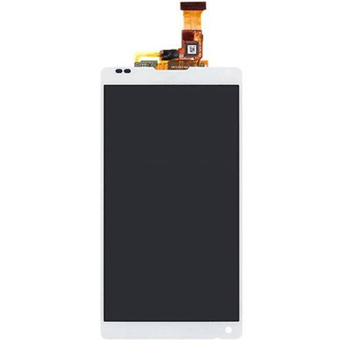 LCD with Digitizer Assembly  for Sony Xperia ZL L35H White