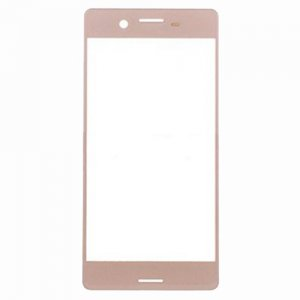 Front Glass Lens for Sony Xperia X Performance Rose Gold