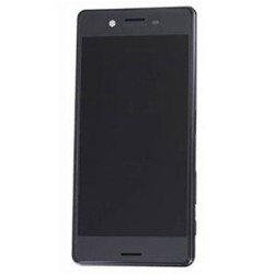 LCD Srceen With Frame for Sony Xperia X Performance Black