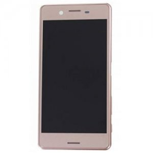 LCD Srceen With Frame for Sony Xperia X Performance Rose Gold