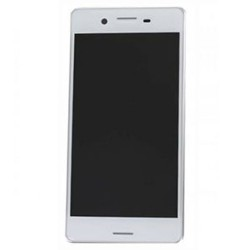 LCD Srceen With Frame for Sony Xperia X Performance White