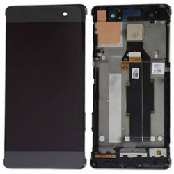 LCD Screen With Frame for Sony Xperia XA Black