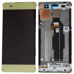 LCD Screen With Frame for Sony Xperia XA Gold