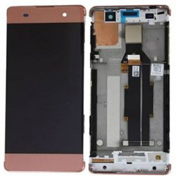 LCD Screen With Frame for Sony Xperia XA Rose Gold