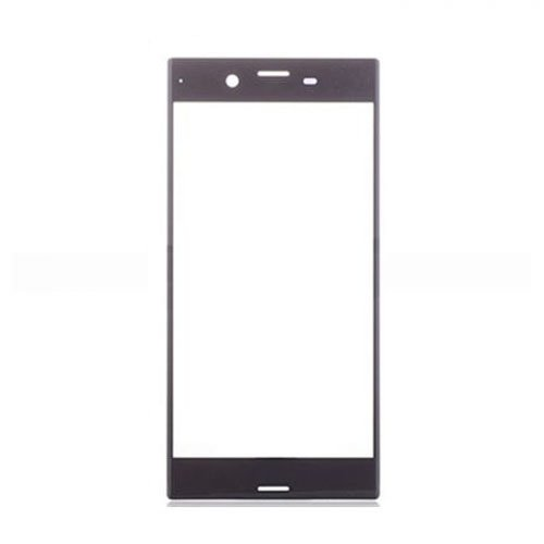 Front Glass Lens for Sony Xperia XZ Black