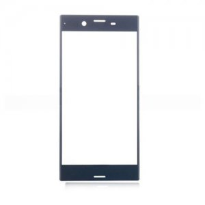 Front Glass Lens for Sony Xperia XZ Blue