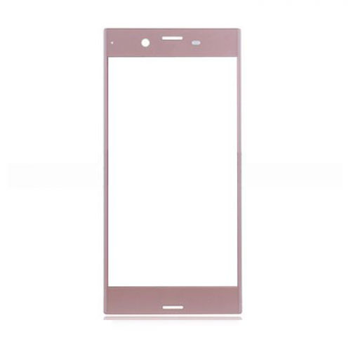 Front Glass Lens for Sony Xperia XZ Rose Gold