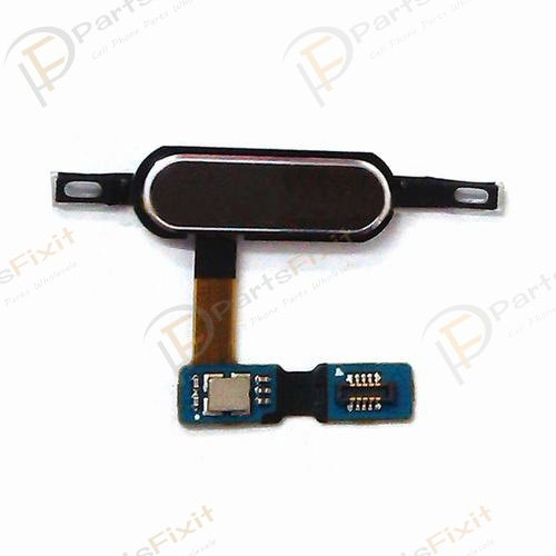 For Samsung Galaxy Tab S 10.5 Home Button with Flex Cable Black