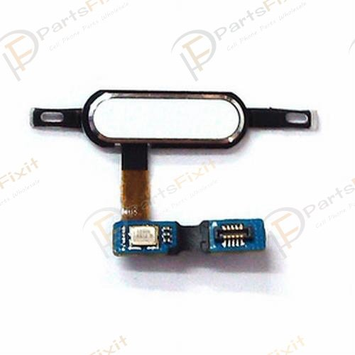 For Samsung Galaxy Tab S 10.5 Home Button with Flex Cable White