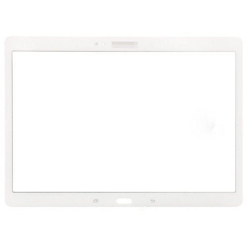 For Samsung Galaxy Tab S 10.5 T800 T805 Front Glass Lens White