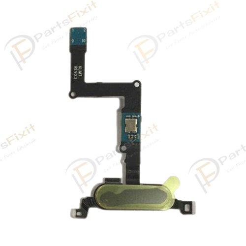 For Samsung Galaxy Tab S 8.4 Home Button with Flex Cable Black
