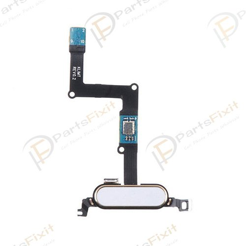 For Samsung Galaxy Tab S 8.4 Home Button with Flex Cable White