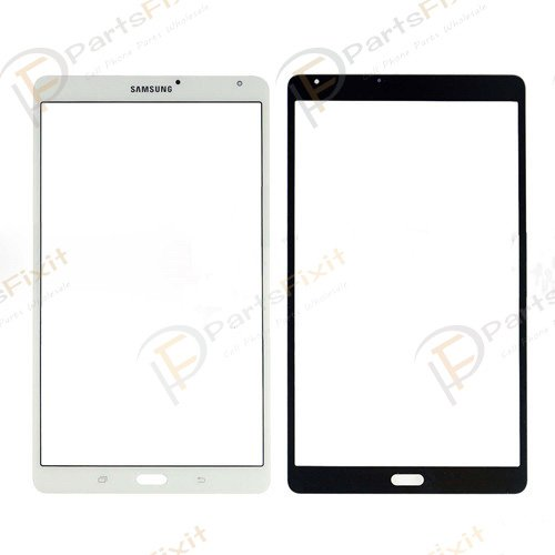 For Samsung Galaxy Tab S 8.4 T700 Front Glass Lens WiFi White
