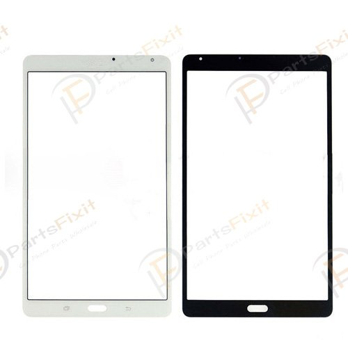 For Samsung Galaxy Tab S 8.4 T705 Front Glass Lens 3G White