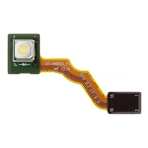 For Samsung Galaxy Note 10.1/N8000 Flashlight Flex Cable