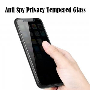 Anti Spy Privacy Tempered Glass for iPhone 5/5s//6/6p/6s/6sp/7/7p/8/8p/X/XR/XS Max