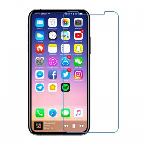 For iPhone X Tempered glass Generic with packaging