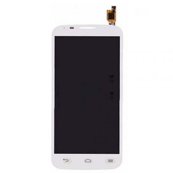 LCD with Digitizer for Vodafone Smart 4 Power 985N White