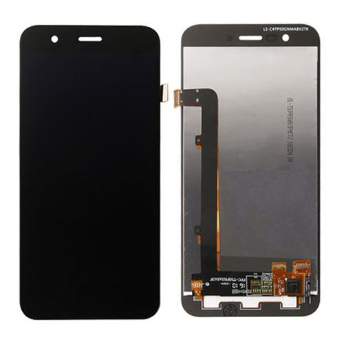 LCD with Digitizer for Vodafone Smart Prime 7 Blac...