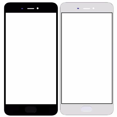 Front Glass Lens for Xiaomi Mi 5S Plus Black
