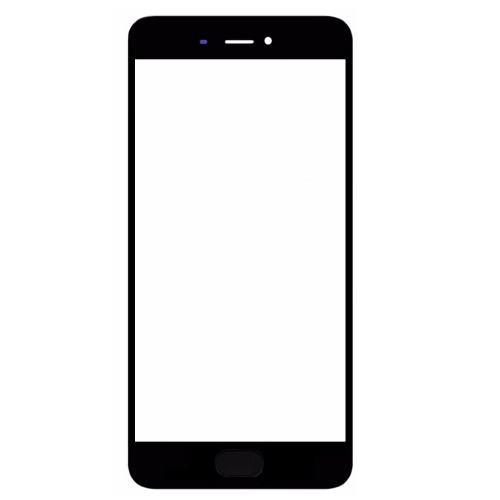 Glass Lens for Xiaomi Mi 5S Black