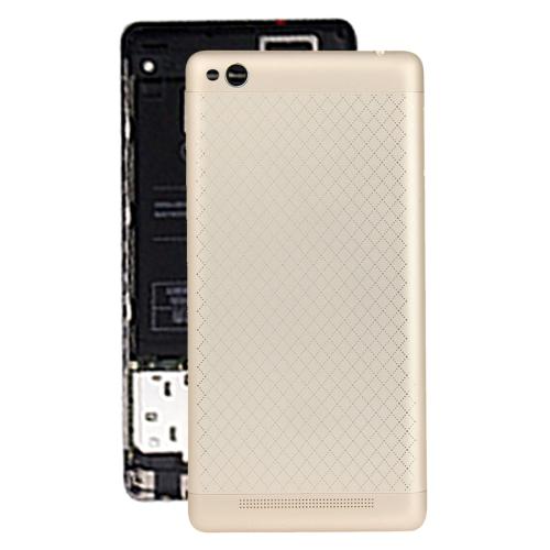 Battery Cover for Xiaomi Redmi 3 Gold