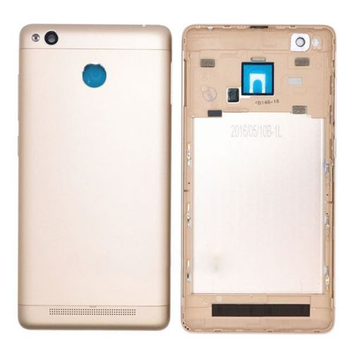 Battery cover for Xiaomi Redmi 3S Gold