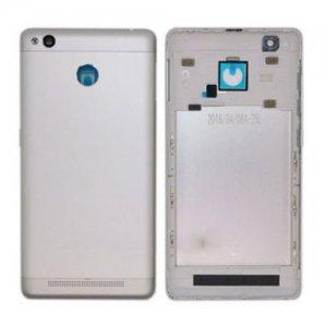 Battery cover for Xiaomi Redmi 3S Silver