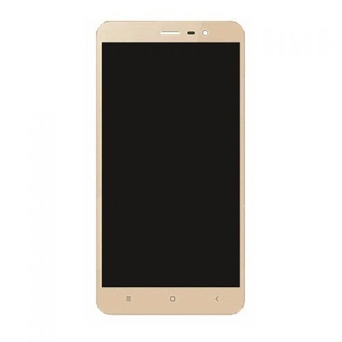 LCD Screen With Frame for Xiaomi Redmi Note 3  Gold
