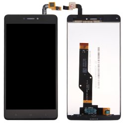 LCD Screen with Frame for Xiaomi Redmi Note 4X Black