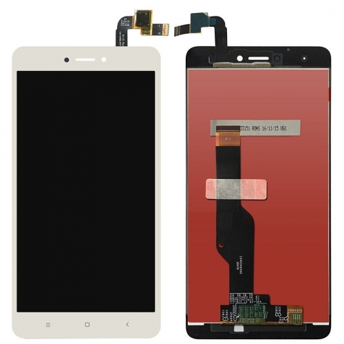 LCD Screen with Frame for Xiaomi Redmi Note 4X Whi...