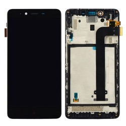 LCD Digitizer with Frme  for Xiaomi Redmi Note 2 Black