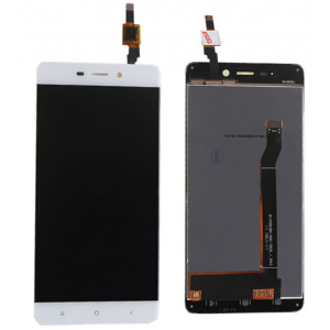 LCD with Digitizer Assembly for Redmi 4 White Standard Version