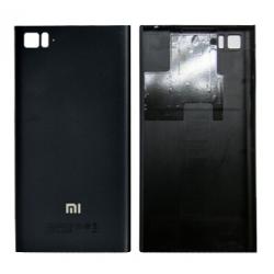 Battery Cover for Xiaomi Mi 3 Black(WCDMA Version)