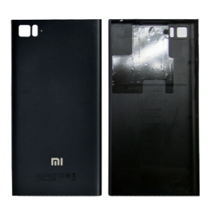 Battery Cover for Xiaomi Mi 3 Black(WCDMA Version)