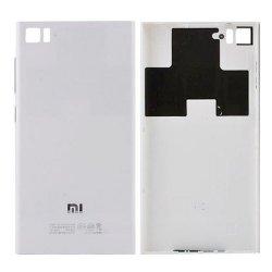 Battery Cover for Xiaomi Mi 3 Silver(WCDMA Version)