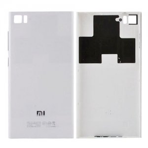 Battery Cover for Xiaomi Mi 3 Silver(WCDMA Version)