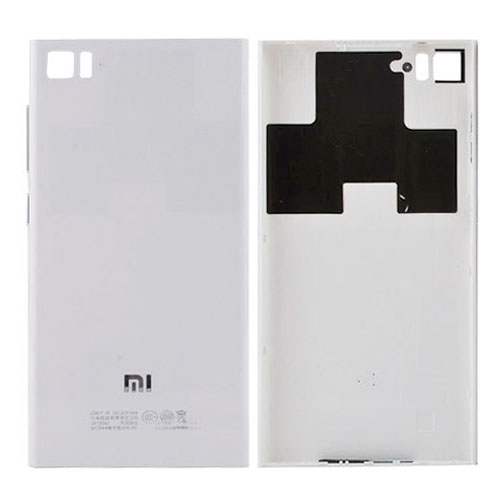 Battery Cover for Xiaomi Mi 3 Silver(WCDMA Version...
