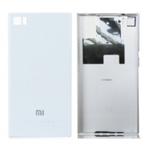 Battery Cover for Xiaomi Mi 3 White(WCDMA Version)