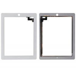 For iPad 2 Touch Screen Digitizer repair part -White without Small Parts