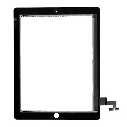 For iPad 2 Touch Screen Digitizer repair part without small parts -Black