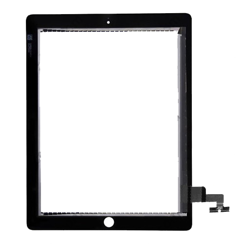 For iPad 2 Touch Screen Digitizer repair part -Black