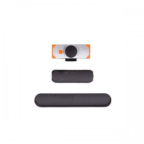 OEM Side Button for iPad 2 2nd (Volume Button +  Power Button + Locking Key) Black