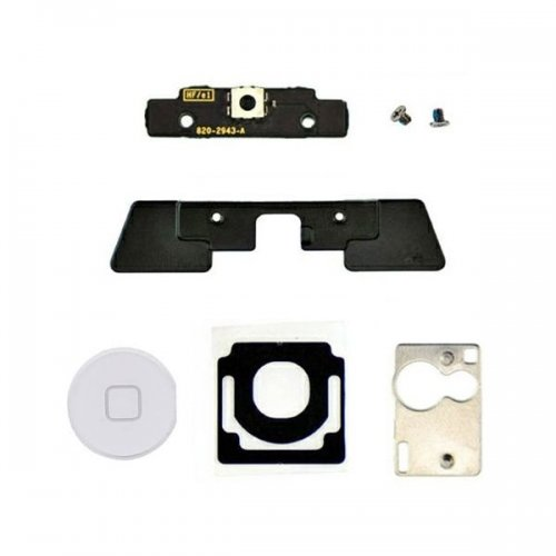 OEM For iPad 2 home button assembly -white home  button(include six parts)