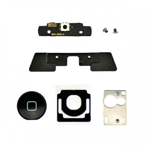 OEM For iPad 2 home button assembly -Black home  button(include six parts)