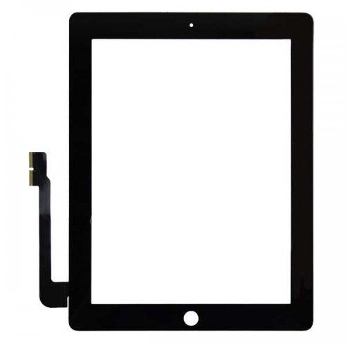 OEM For iPad 3 iPad 4 Touch Screen Digitizer repair part -Black