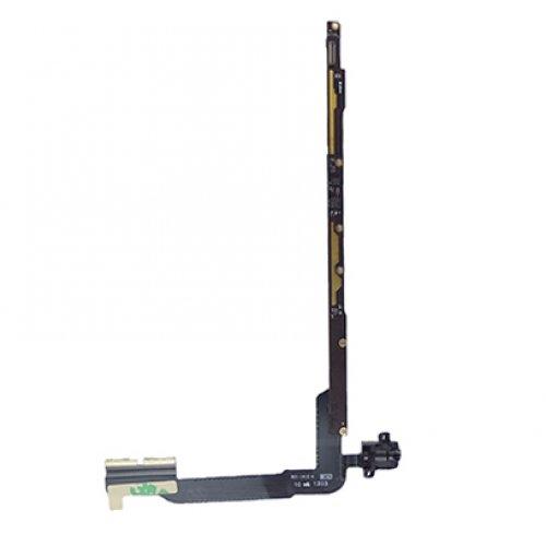 Earphone Jack Audio Flex Ribbon Cable with pcb board for iPad 3 iPad 4 -Wifi Version