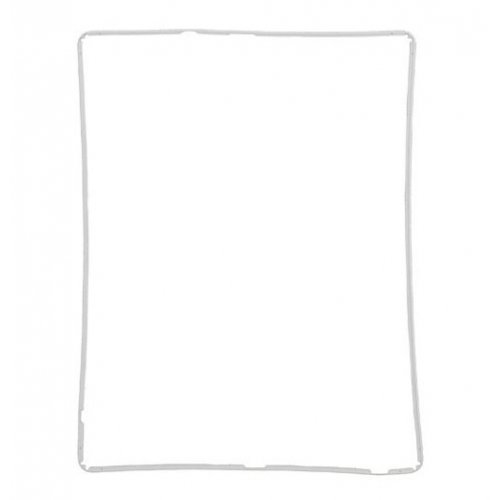 High quality Digitizer Touch Screen Frame Bezel for iPad 3 iPad 4 - White