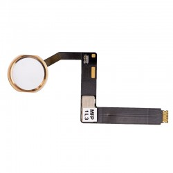"""Home Button with Flex Cable Assembly for iPad Pro 9.7"""" Gold"""